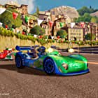 John Turturro and Jossara Jinaro in Cars 2: The Video Game (2011)
