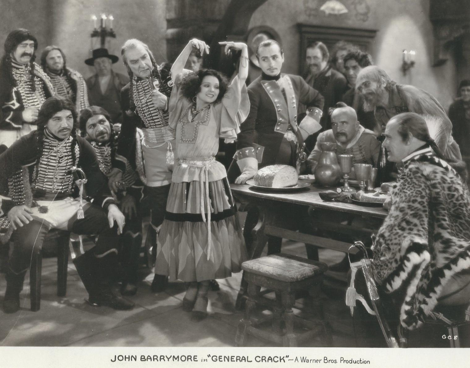 John Barrymore, Armida, Hobart Bosworth, Theodore Lodi, Otto Matieson, Guy Schact, Andrés de Segurola, Lowell Sherman, Nick Thompson, and Wilhelm von Brincken in General Crack (1929)