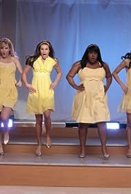 Lea Michele, Naya Rivera, Dianna Agron, Jenna Ushkowitz, Amber Riley, and Heather Morris in Glee (2009)