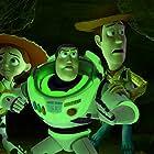 Tom Hanks, Joan Cusack, and Tim Allen in Toy Story of Terror (2013)