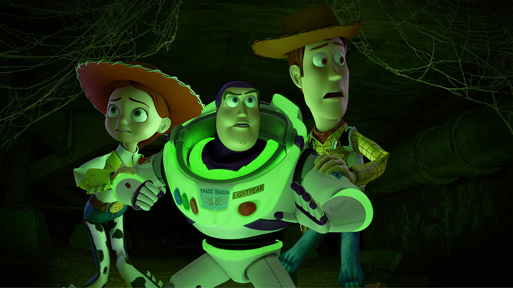 Tom Hanks, Joan Cusack, and Tim Allen in Toy Story of Terror (2013)