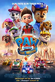 Movie Poster for Paw Patrol: The Movie.