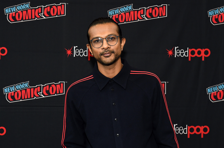 Utkarsh Ambudkar at an event for Free Guy (2021)