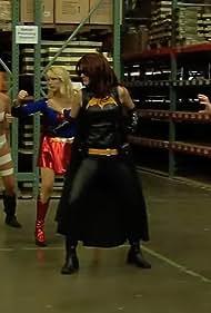 Mary Nelson, Mercedes Rose, Elizabeth Strelow, and Jillian Rabe in Gamma Girls Alpha Force & The Vapor Ray of Mayhem (2010)