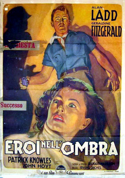 Alan Ladd and Geraldine Fitzgerald in O.S.S. (1946)