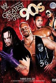 Steve Austin, Mark Calaway, Bret Hart, and Dwayne Johnson in WWE: Greatest Stars of the '90s (2009)