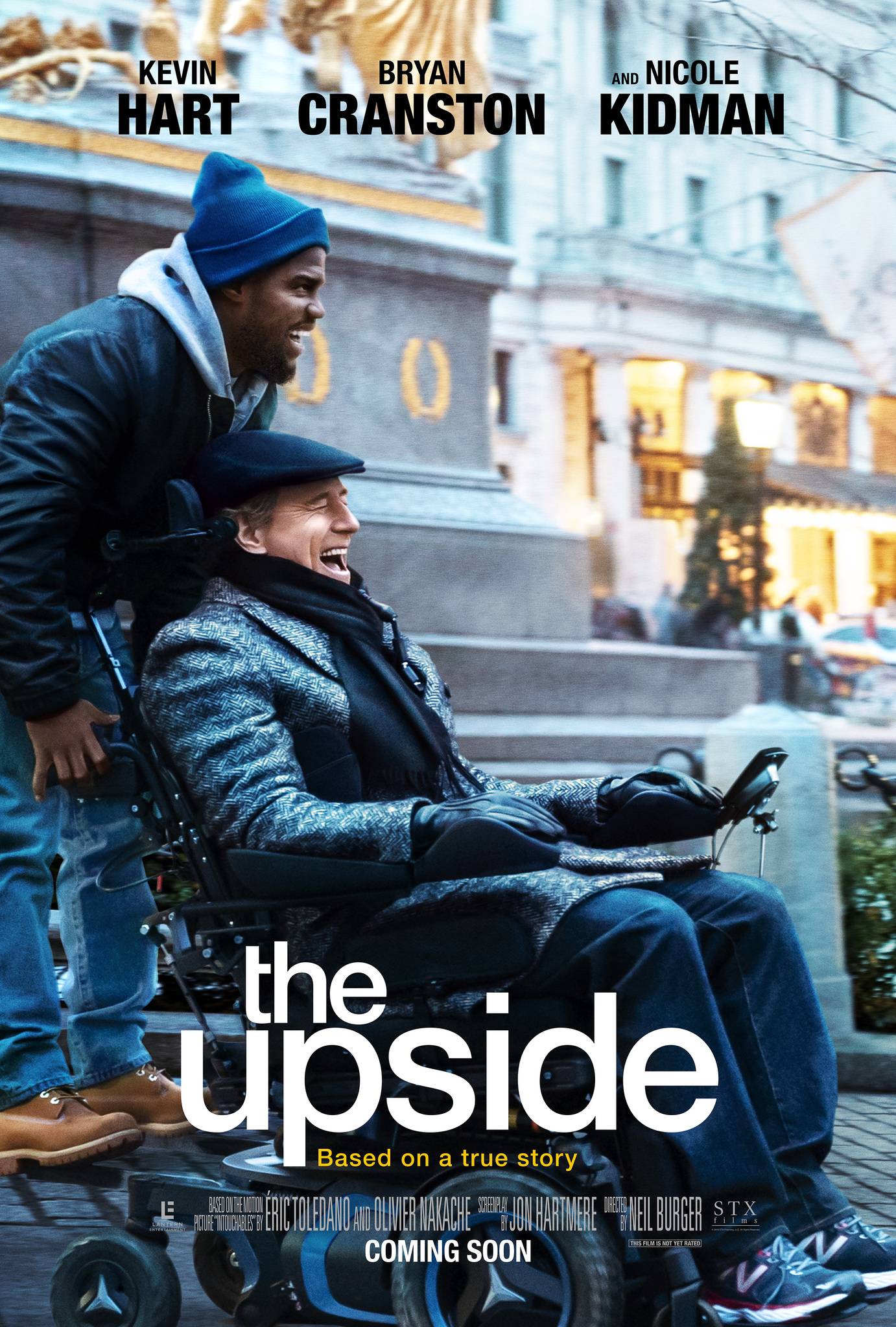 GEROJI PUSĖ (2017) / THE UPSIDE