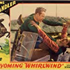 Lane Chandler and Harry Semels in The Wyoming Whirlwind (1932)