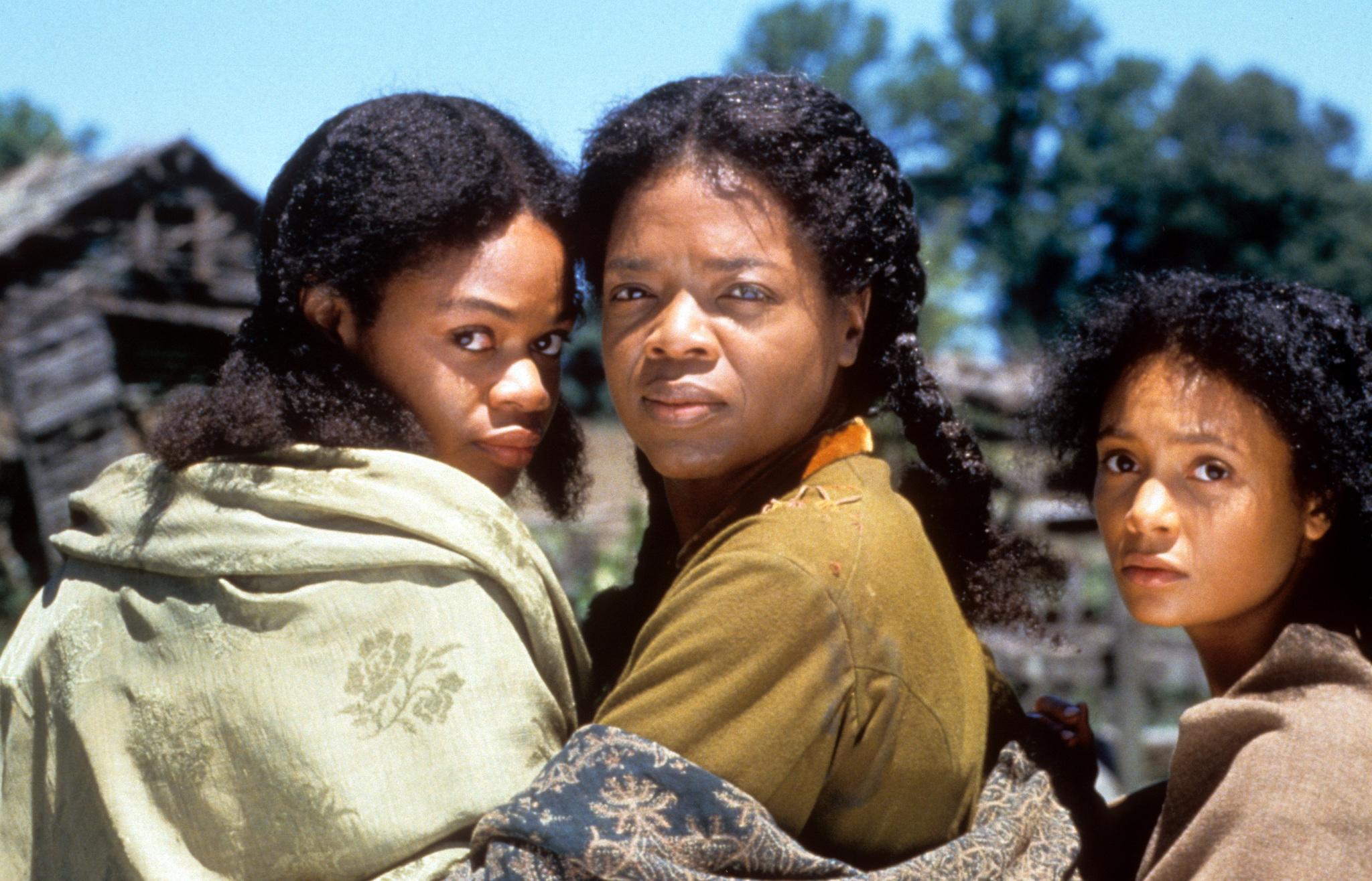 Oprah Winfrey, Kimberly Elise, and Thandiwe Newton in Beloved (1998)
