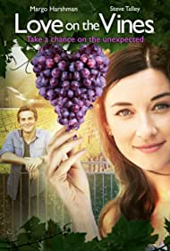 Margo Harshman and Steve Talley in Love on the Vines (2017)