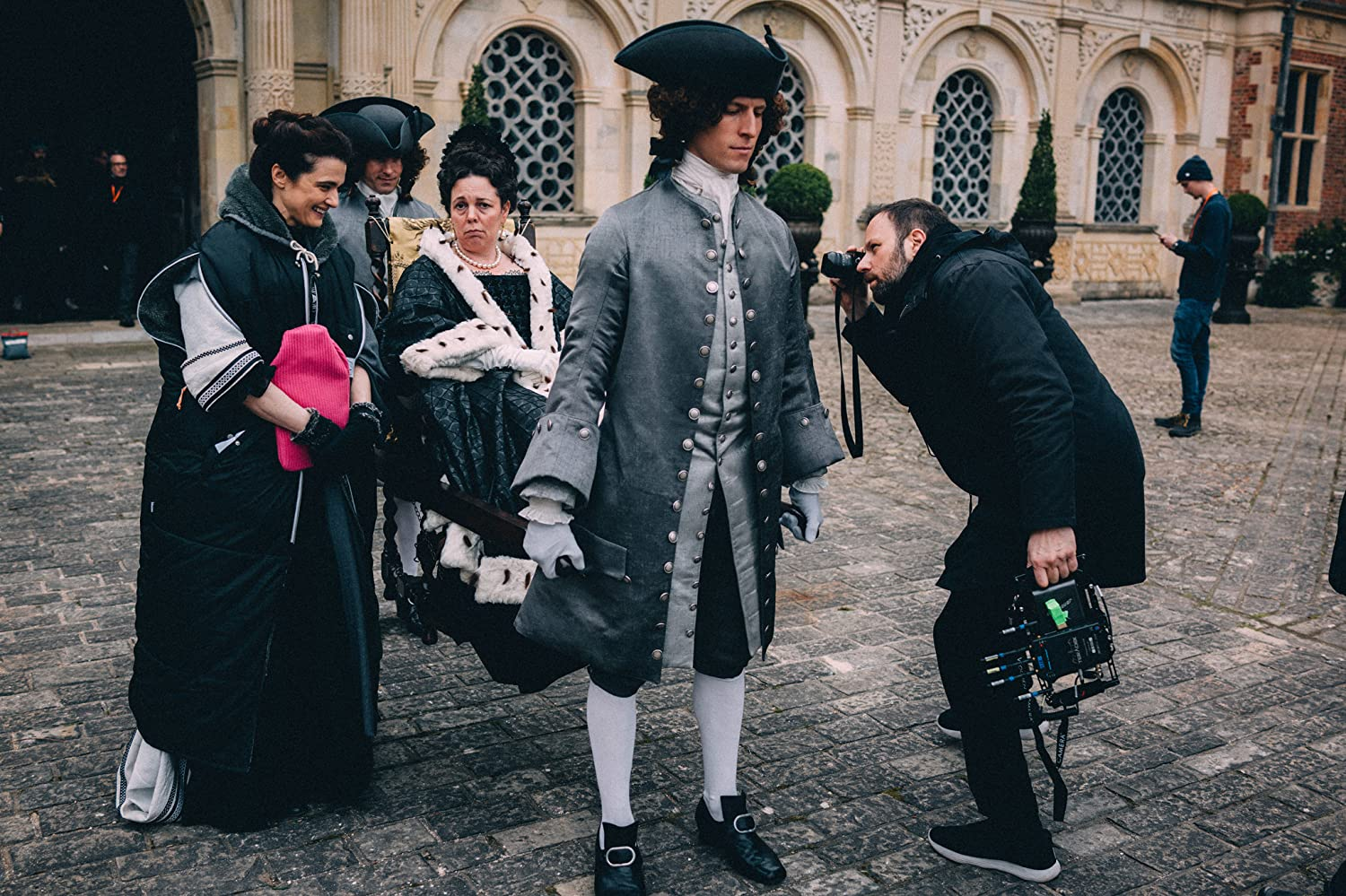 making of The Favourite