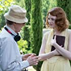 Woody Allen and Emma Stone in Magic in the Moonlight (2014)