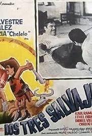 Los tres salvajes Poster