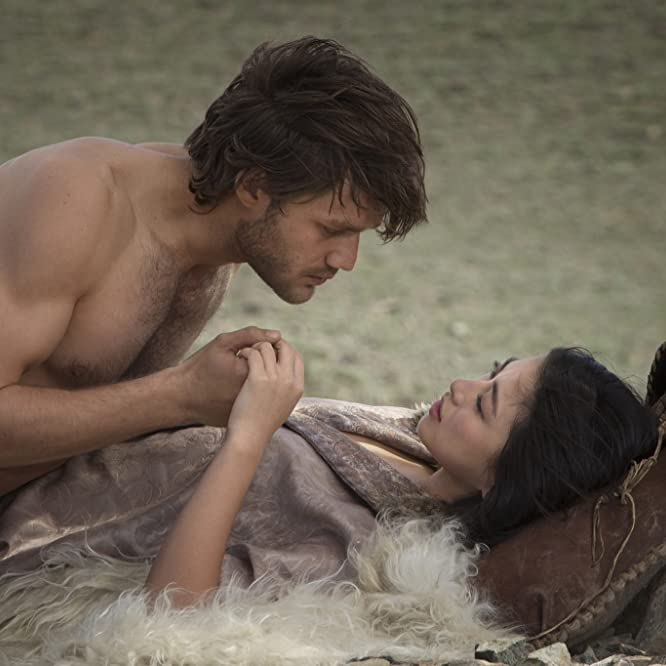 Lorenzo Richelmy and Zhu Zhu in Marco Polo (2014)