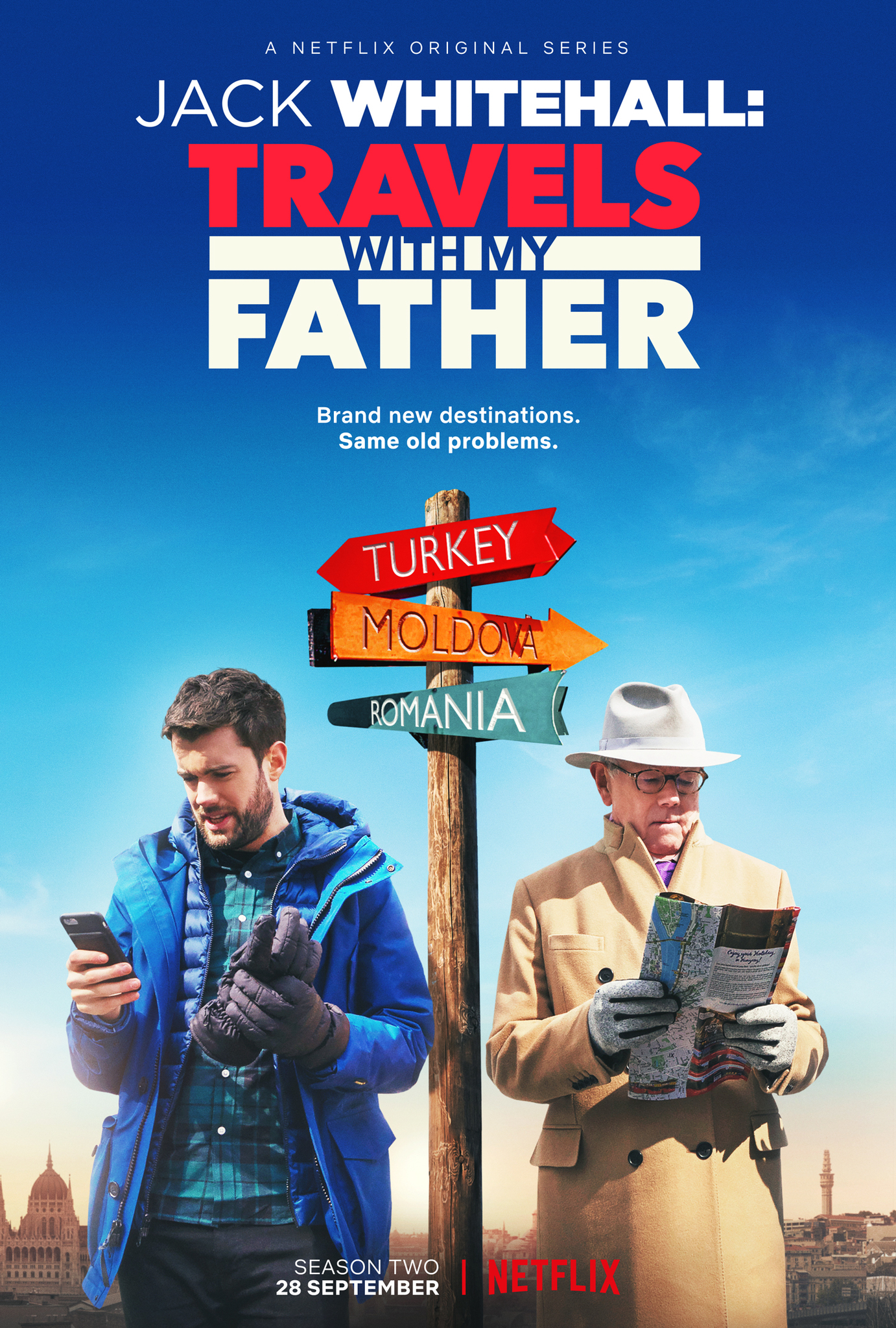 Jack Whitehall: Travels with My Father (TV Series 2017– ) - IMDb