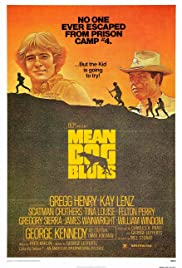 Mean Dog Blues Poster