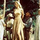 Glenn Ford, Barbara Babcock, Jane Geffrey, and Arthur Kennedy in Day of the Evil Gun (1968)