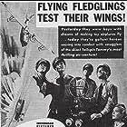 Marjorie Reynolds, Milburn Stone, and John Trent in Sky Patrol (1939)