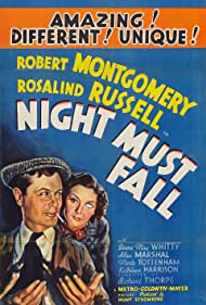Night Must Fall (1937) Poster - Movie Forum, Cast, Reviews