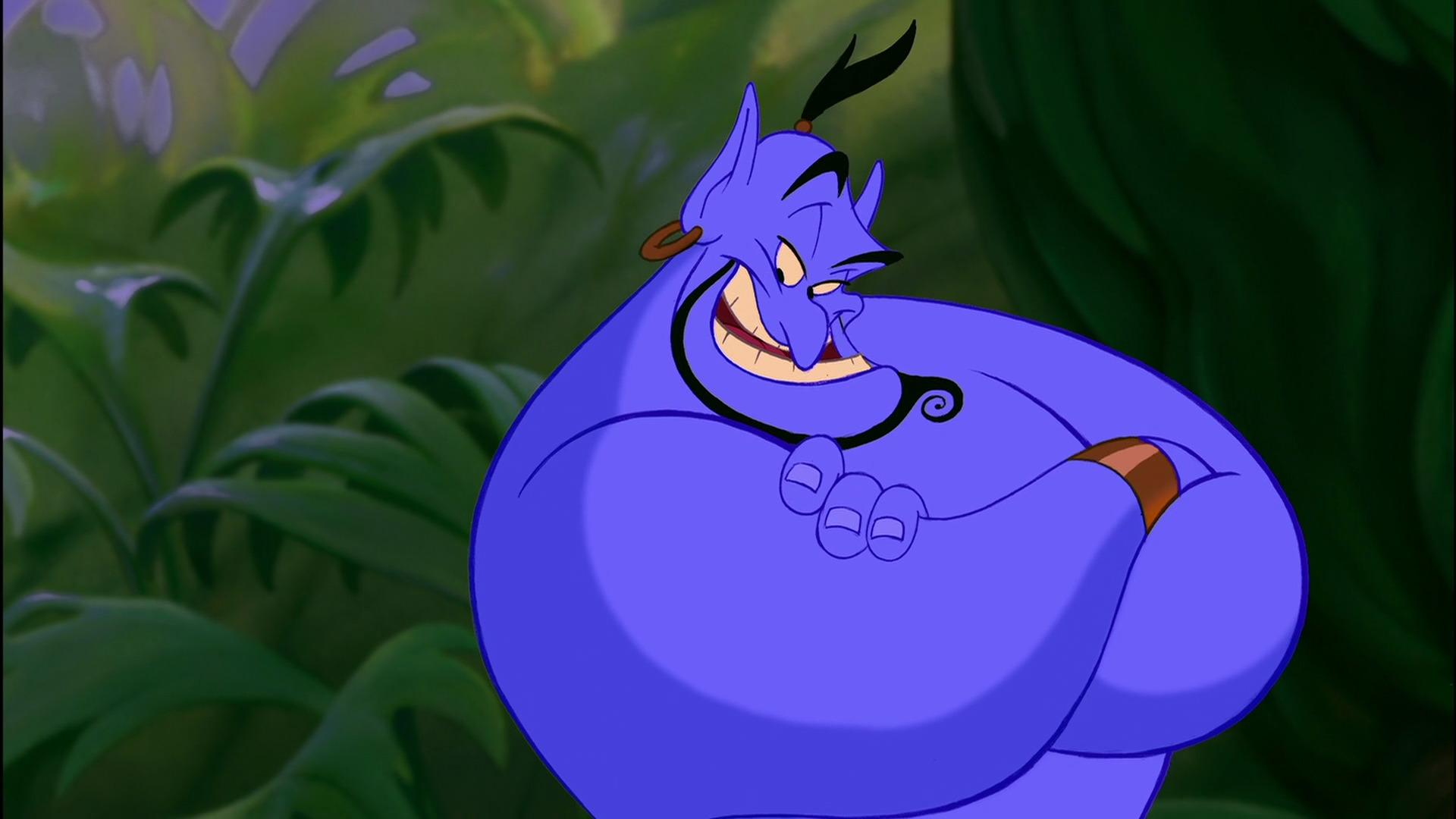 Robin Williams in Aladdin (1992)
