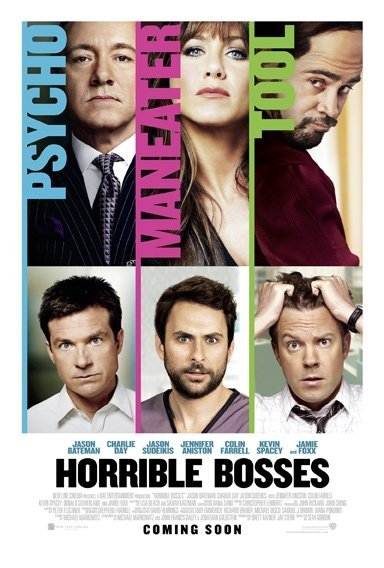 [R] Horrible Bosses (2011) Dual Audio Blu-Ray - 480P | 720P - x264 - 300MB | 950MB - Download & Watch Online  Movie Poster - mlsbd