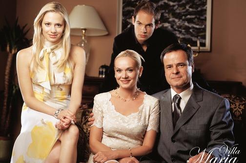 Ksenija Pajic, Zarko Radic, Jelena Veljaca, and Mislav Cavajda in Villa Maria (2004)