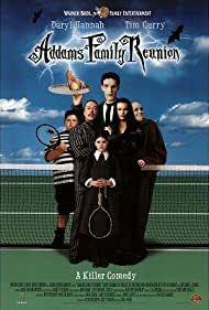 Tim Curry, Daryl Hannah, Nicole Fugere, Jerry Messing, and Carel Struycken in Addams Family Reunion (1998)