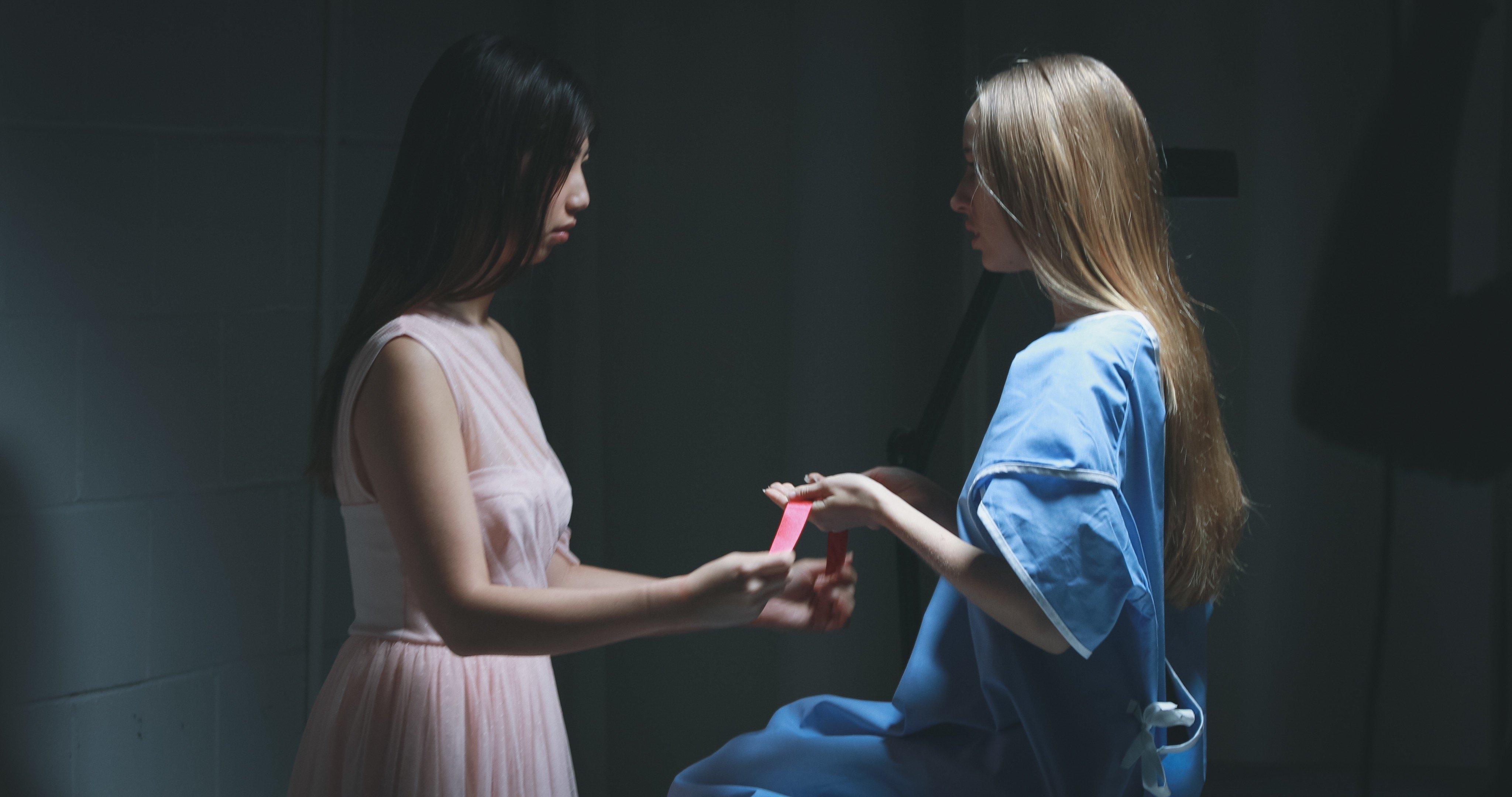 Emily Haigh and Linda Louise Duan in Beautified (2018)