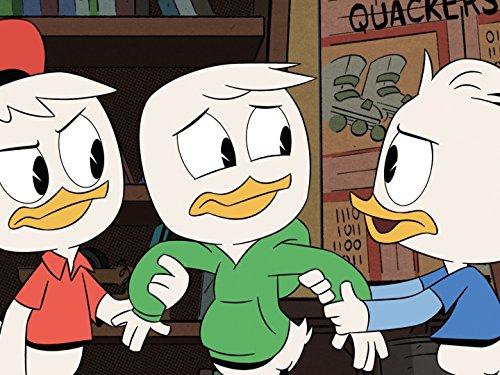 Bobby Moynihan Danny Pudi and Ben Schwartz in DuckTales 2017