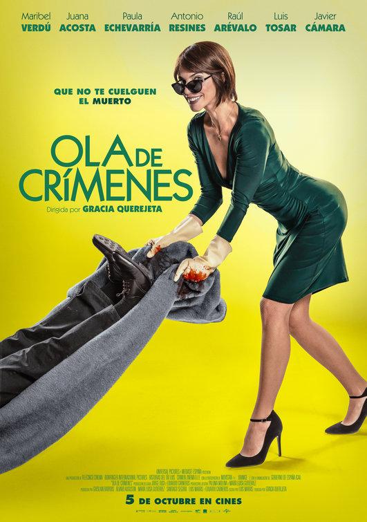 Maribel Verdú in Ola de crímenes (2018)