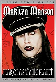 Marilyn Manson: Fear of a Satanic Planet Poster