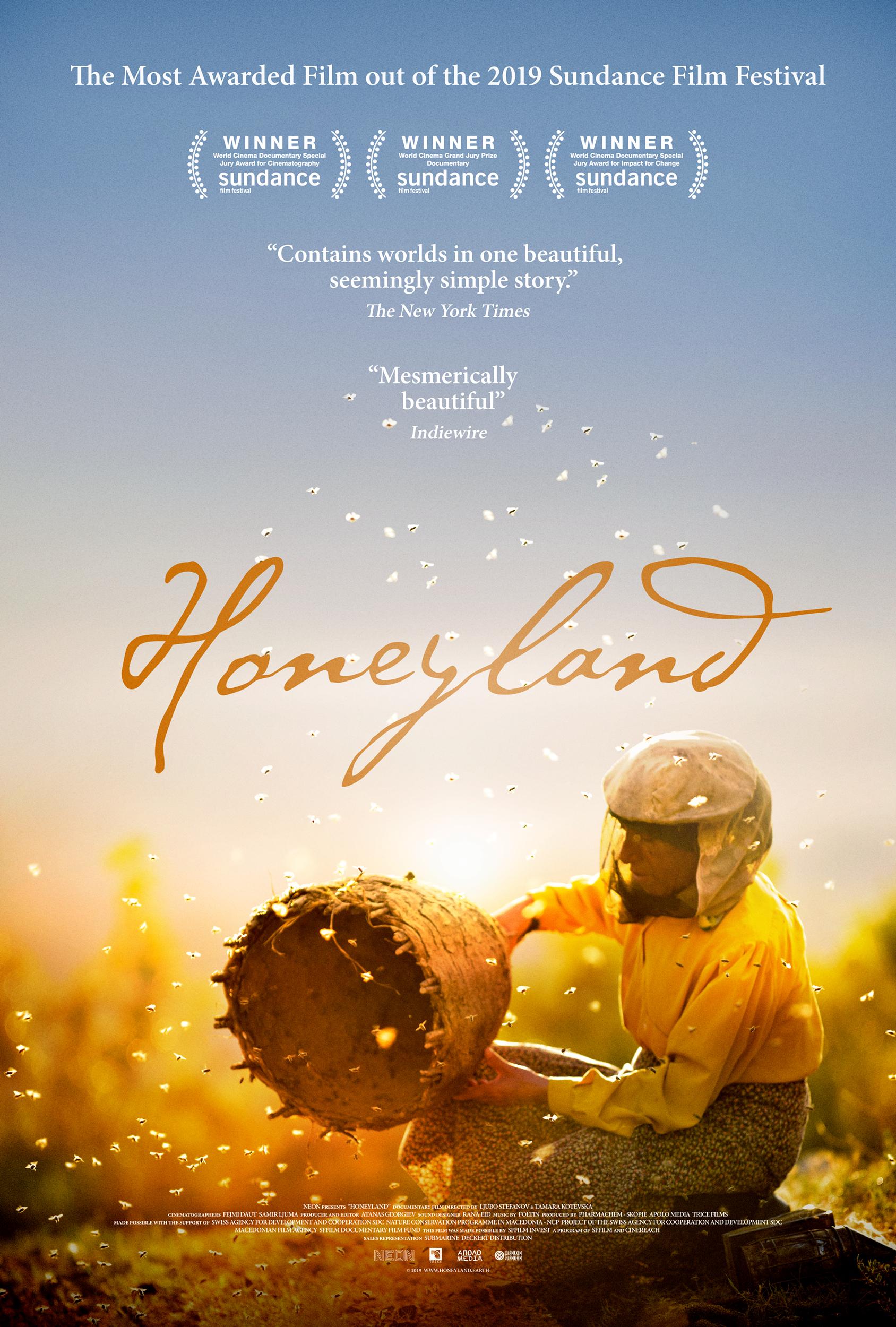 Image result for honeyland poster
