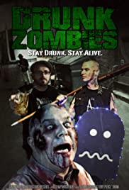 Drunk Zombies Poster