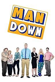 Rik Mayall, Gwyneth Powell, Greg Davies, Jeany Spark, Mike Wozniak, and Roisin Conaty in Man Down (2013)