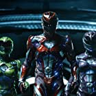 Becky G, Ludi Lin, Dacre Montgomery, Naomi Scott, and RJ Cyler in Power Rangers (2017)