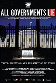 Primary photo for All Governments Lie: Truth, Deception, and the Spirit of I.F. Stone