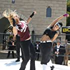Crystal Santos (Cynthia Martinez), Jeff Quinlan (fight manager) Fight tournament elimination finals