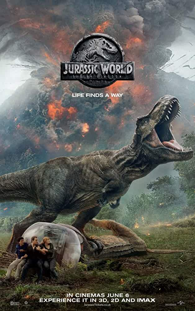 Jurassic World Fallen Kingdom 2018 BluRay 480p 720p 1080p 2160p 3D