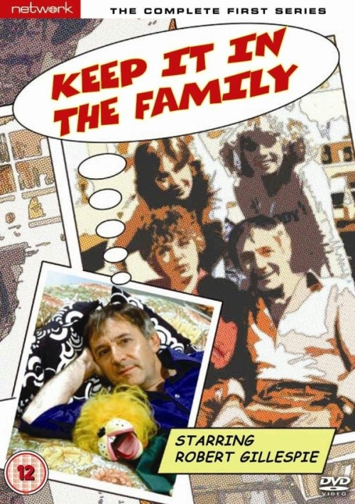 Stacy Dorning, Robert Gillespie, Jenny Quayle, and Pauline Yates in Keep It in the Family (1980)