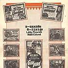 Ted Adams, Buzz Barton, Jack Baston, Rex Bell, Philo McCullough, Lew Meehan, Ruth Mix, and Milburn Morante in Gunfire (1934)