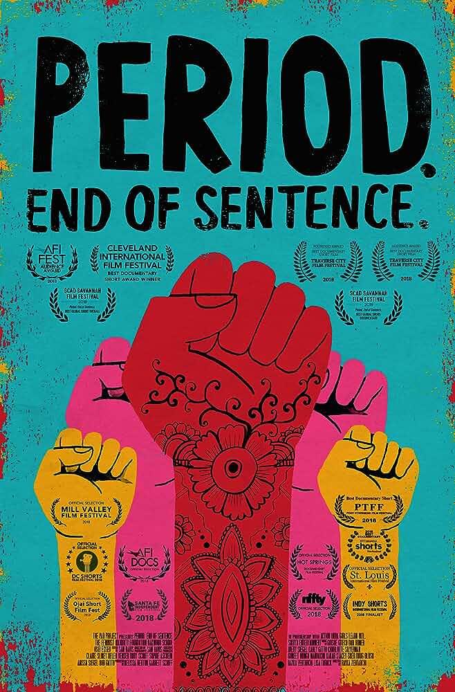 Period End of Sentence 2018 Hindi 1080p Netflix Esub  [ Oscar Nominated]
