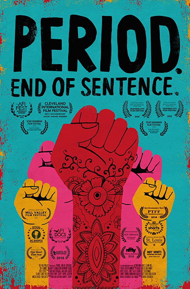 Poster Film Period. End of Sentence. (2018)