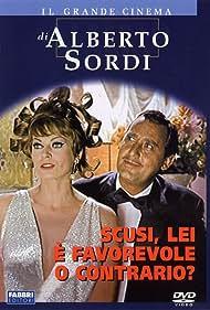 Anita Ekberg and Alberto Sordi in Scusi, lei è favorevole o contrario? (1966)
