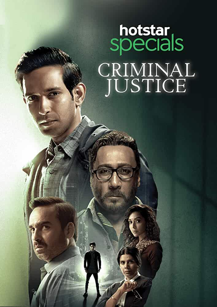 Criminal Justice (2019) Season 1 Hindi Complete Watch Online HD Free