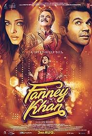 Anil Kapoor, Aishwarya Rai Bachchan, Rajkummar Rao, and Pihu Sand in Fanney Khan (2018)
