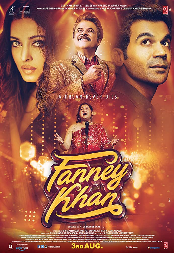 Fanney Khan 2018 Hindi Movie WebRip 300mb 480p 1GB 720p