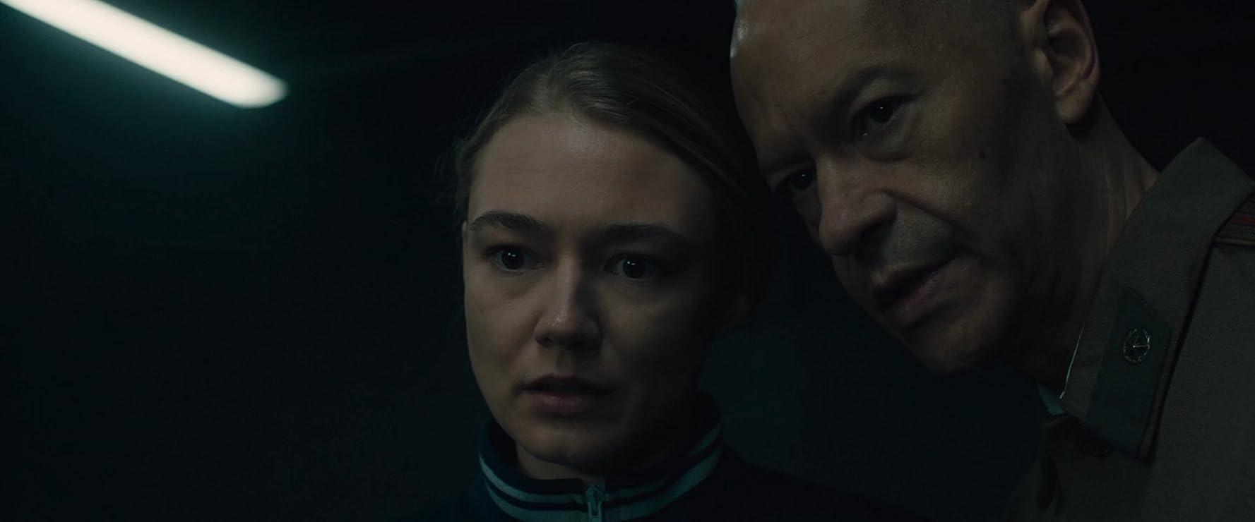 Fedor Bondarchuk and Oksana Akinshina in Sputnik (2020)
