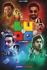 Abhishek Bachchan, Fatima Sana Shaikh, Inayat Verma, Pankaj Tripathi, Aditya Roy Kapoor, Rajkummar Rao, Pearle Maaney, Sanya Malhotra, and Rohit Saraf in Ludo (2020)