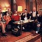 Søren Fauli, Gerda Gilboe, Farshad Kholghi, William Kisum, Kjeld Nørgaard, Trine Michelsen, Birthe Neumann, and Trine Runge in Antenneforeningen (1999)