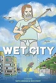 Wet City Poster